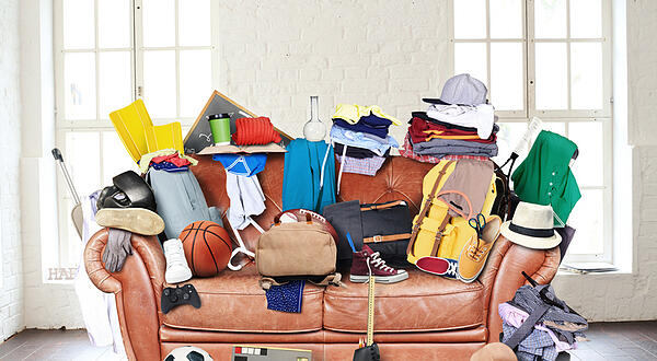 A homeowner should have learned how to clean a messy house.