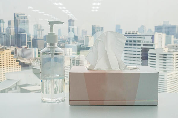 Professional disinfecting services help prevent colds and flus.